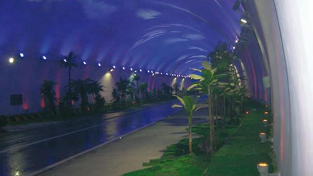 Túnel de Zhongnanshan, China