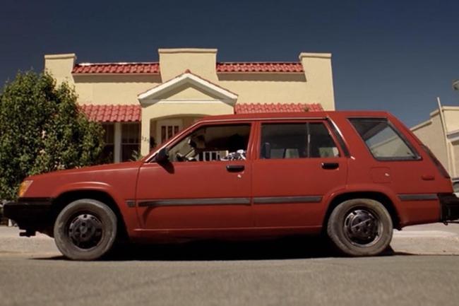Toyota Tercel 4 WD, Jesse Pinkman