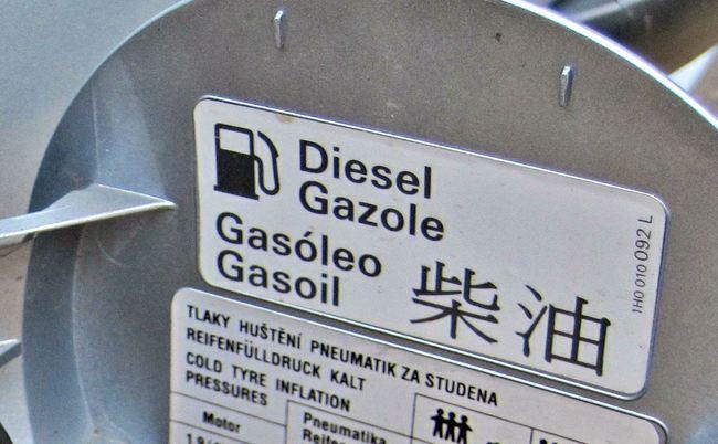 diesel tanque