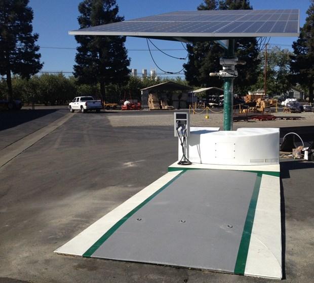 recarga solar EV-ARC1