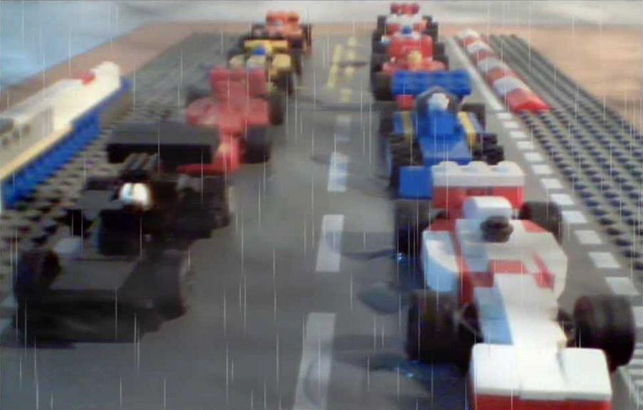 trailer rush lego