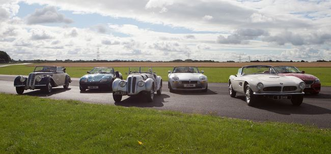 BMW roadsters historia