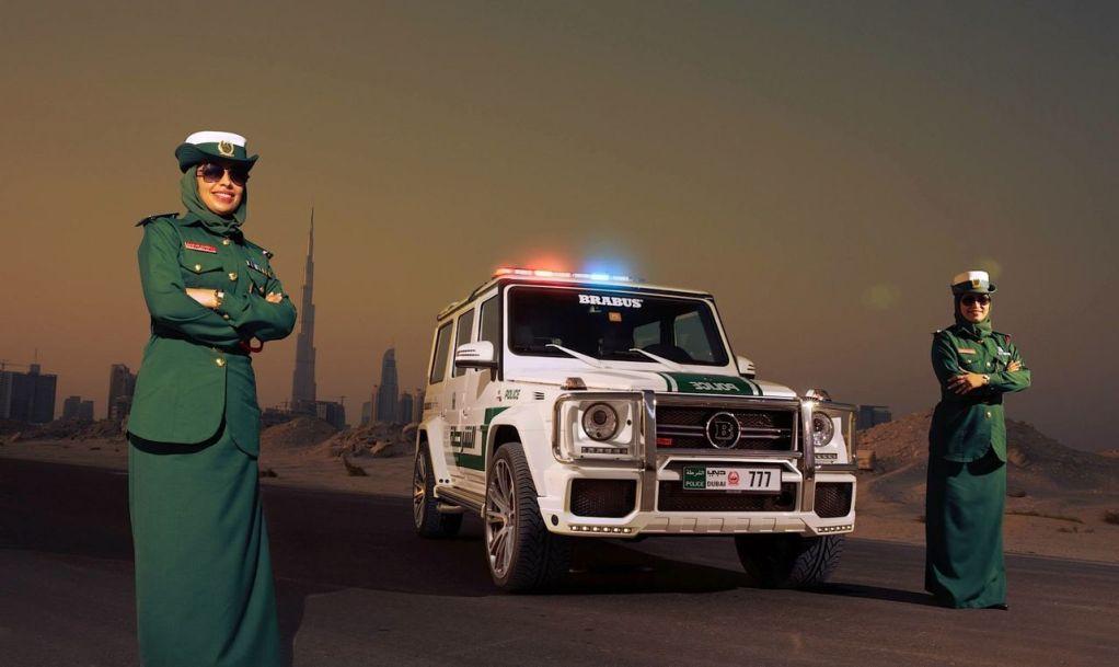 Brabus B63S policia Dubai 2013 02