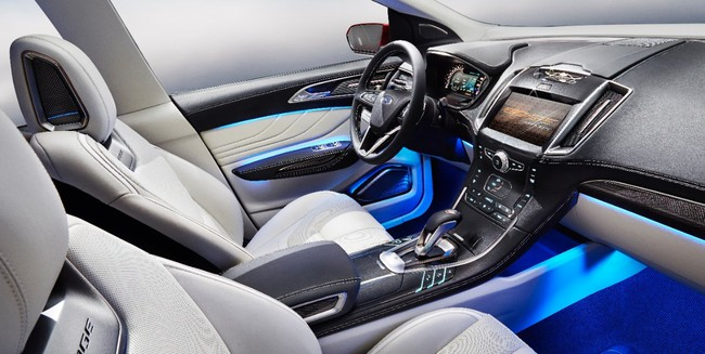 Ford Edge Concept 2013 06 interior
