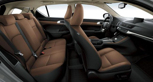 Lexus CT200h 2014 interior