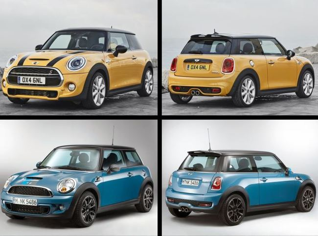 MINIF56 2014 VS MINI R56