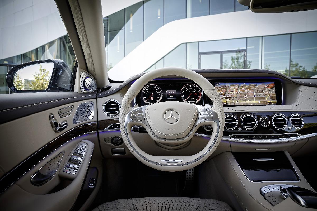 Mercedes S 65 AMG: 630 CV para el mejor coche del mundo
