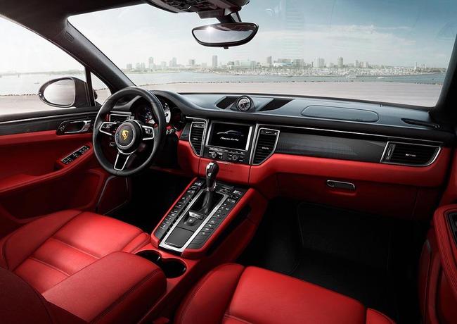 Porsche Macan 2014 13 interior