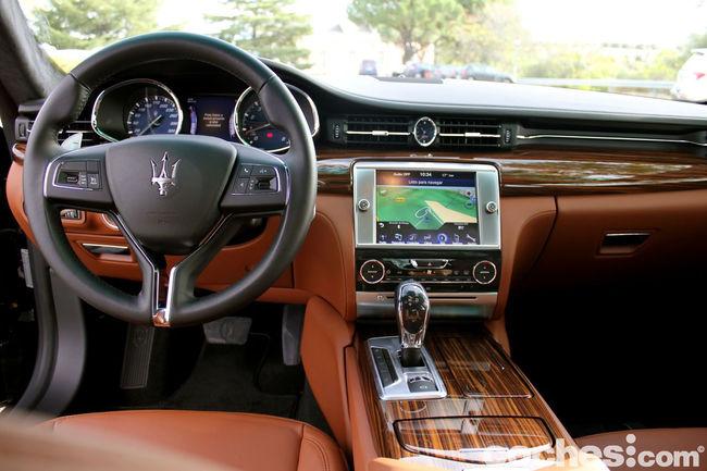 Prueba Maserati Quattroporte GTS 21