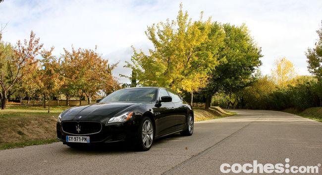 Prueba Maserati Quattroporte GTS 33