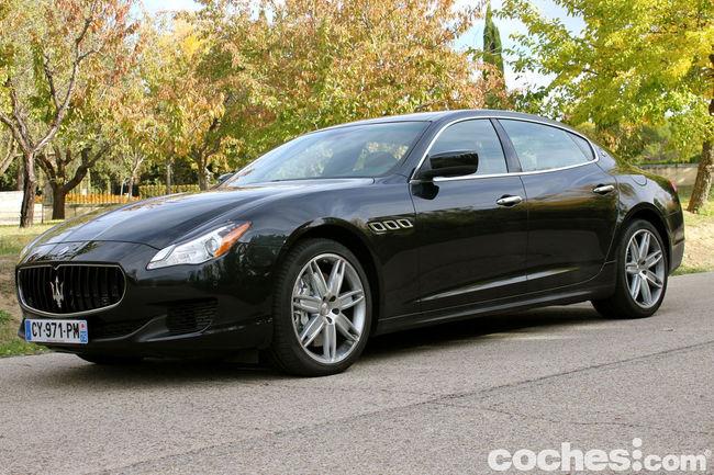 Prueba Maserati Quattroporte GTS 40