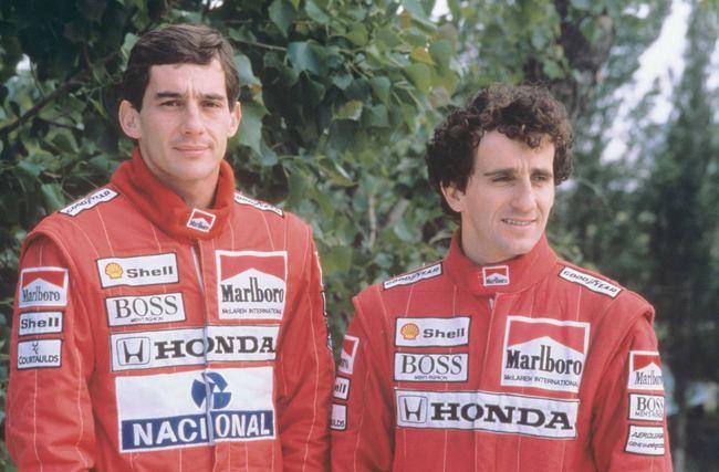 Senna Prost McLaren