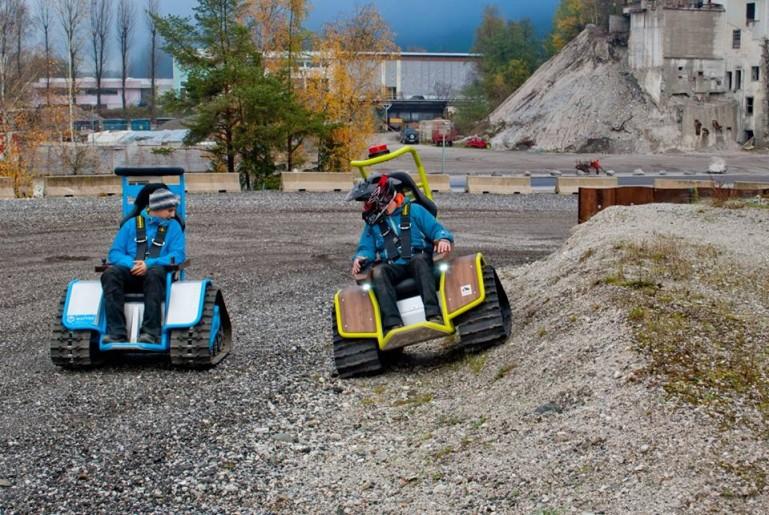 Ziesel la silla de ruedas el ctrica para la nieve for Cuanto cuesta adaptar un coche para silla de ruedas