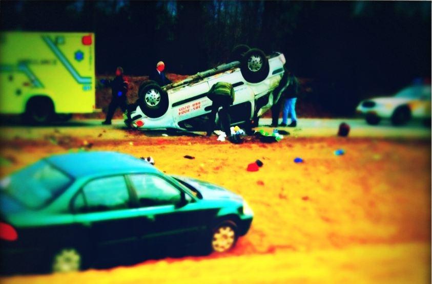 accidente coche filtro