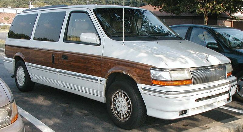 chrysler minivan 2
