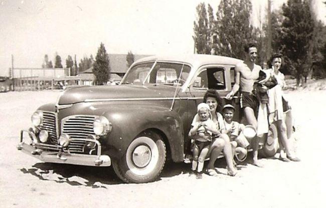 coche familia americana clasico