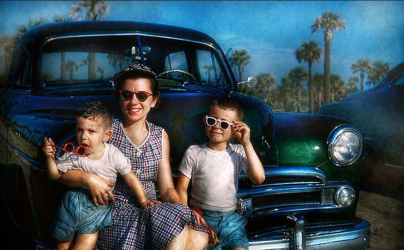 coche familia americana