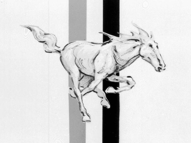 Mustang Badges Hero