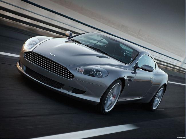 16. Aston Martin DB9