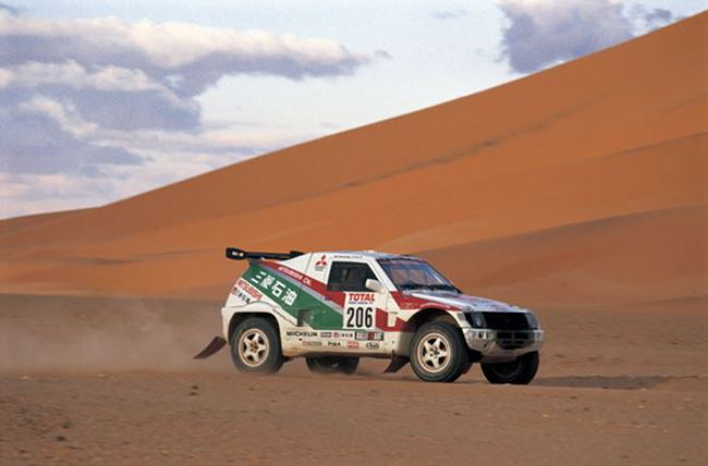 1993 Mitsubishi Pajero Proto Dakar