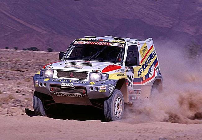 1998 Mitsubishi Pajero Evo 2