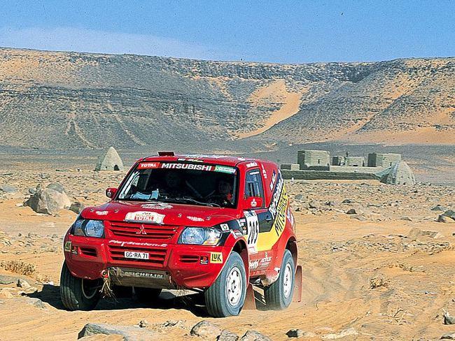 2001 Mitsubishi-Montero-Paris-Dakar