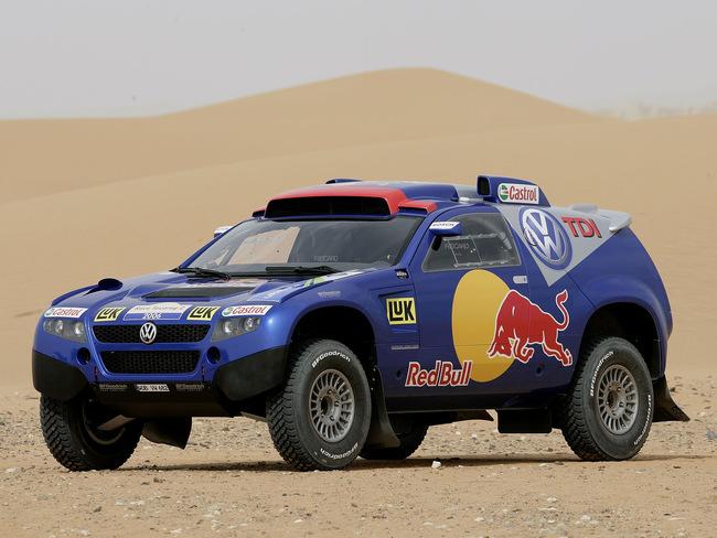 2010 Volkswagen Race Touareg 2