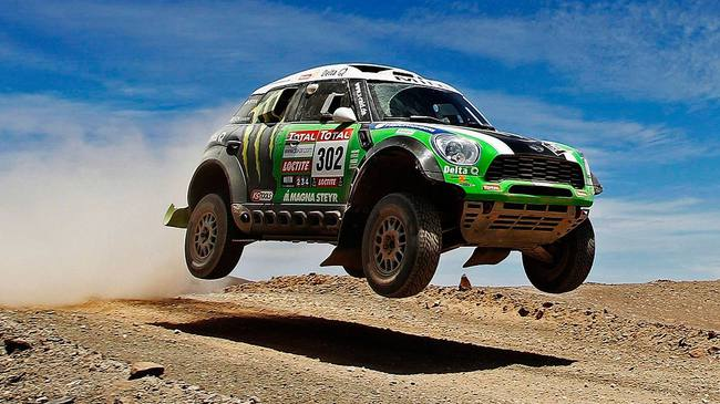 2013 Mini All4 Racing Dakar