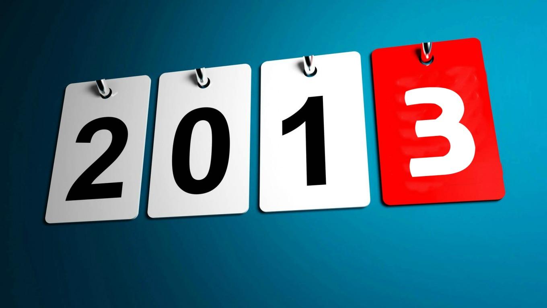 2013 aniversarios