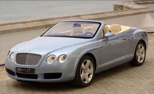 3. Bentley Continental GTC de 2007