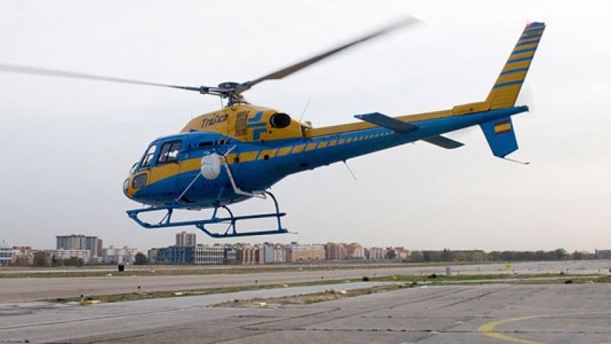 DGT helicoptero Pegasus