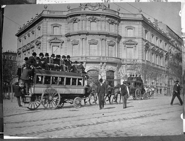 Fernando Debas - Madrid hacia 1900 - Museo Municipal de Madrid