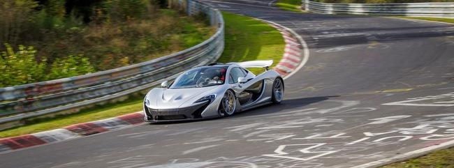 McLaren P1 Nurburgring 02