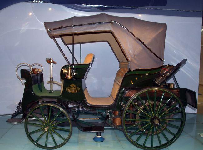 Tatra 1er coche Prasident