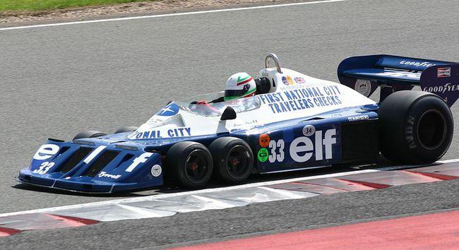 Tyrell P34 seis ruedas 2