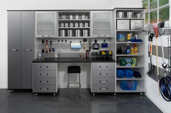 Ocho ideas para organizar un garaje - Armario para garaje ...