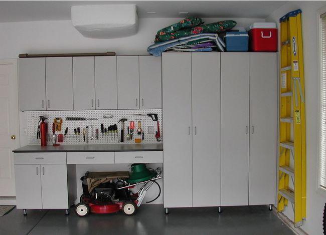 Armario para garaje armario de auxiliar blanco de - Armario para garaje ...