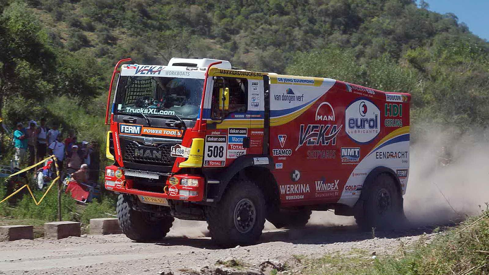 Resultado de imagen de camiões dakar
