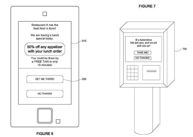 Google patente taxi 2
