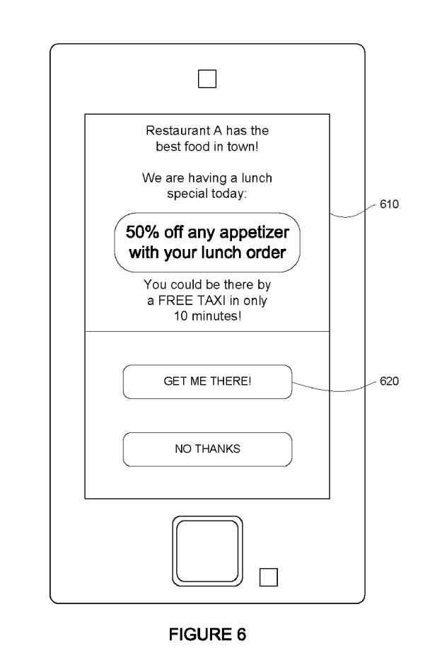 Google patente taxi