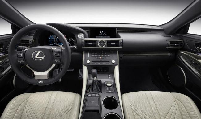Lexus RC F 2015 interior 01
