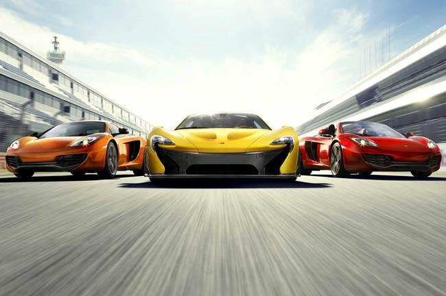 McLaren gama 2013