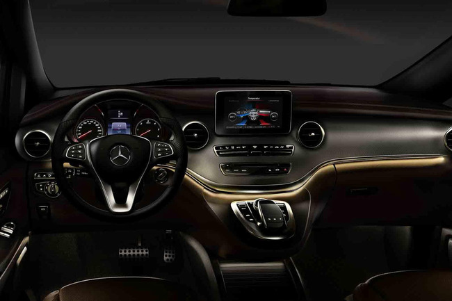 Mercedes Clase V 2014 interior 01