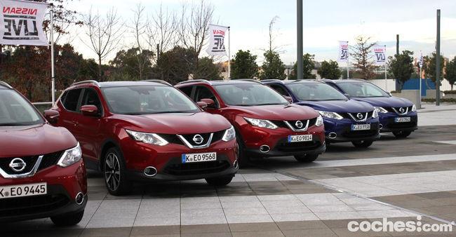 Nissan Qashaqi 2014 prueba 01