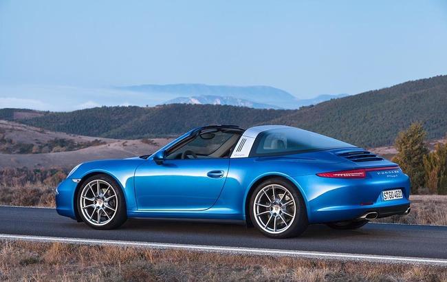 Porsche 911 Targa 2014 06