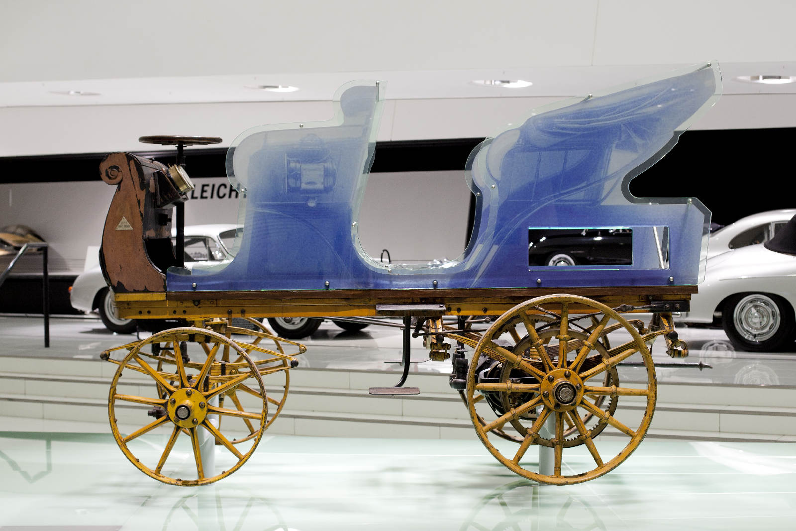 Porsche P1 Egger-Lohner electric vehicle, C.2 Phaeton model 1