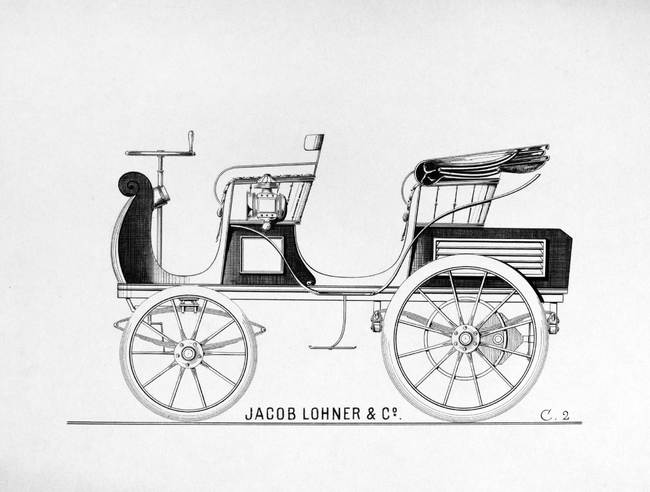 Porsche P1 Egger-Lohner electric vehicle, C.2 Phaeton model 6