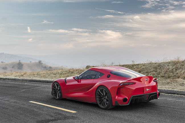 Toyota FT-1 Concept 2014 2