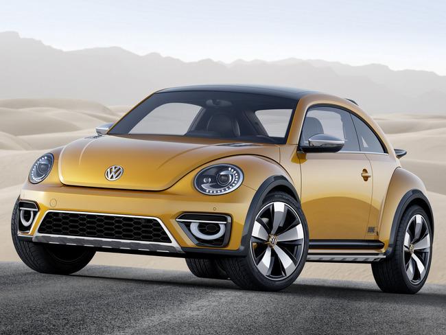 Volkswagen Beetle Dune Concept 2014 01