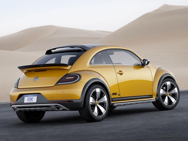 Volkswagen Beetle Dune Concept 2014 09